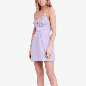 NWT Free People we go together a line dress